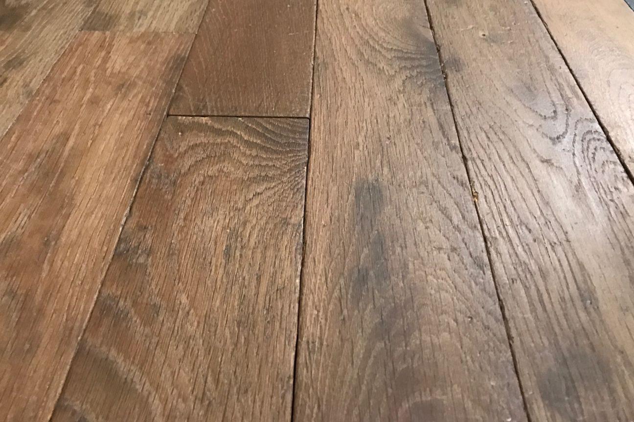 Solid Oak French Antiqued Floors Bca Mat 233 Riaux Anciens