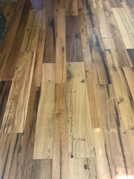 antique oak flooring