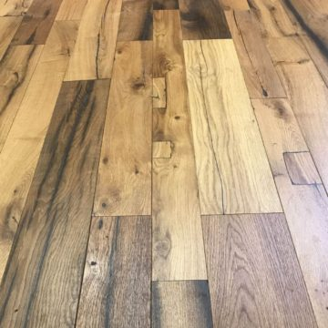 engineered reclaimed oak floring