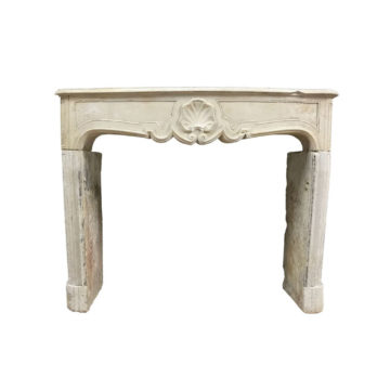french regence fireplace