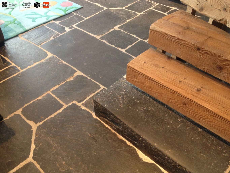 Reclaimed Slate Flagstones Schist Bca Antique Materials
