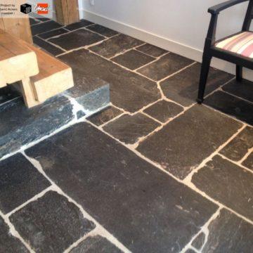 reclaimed slate flagstones