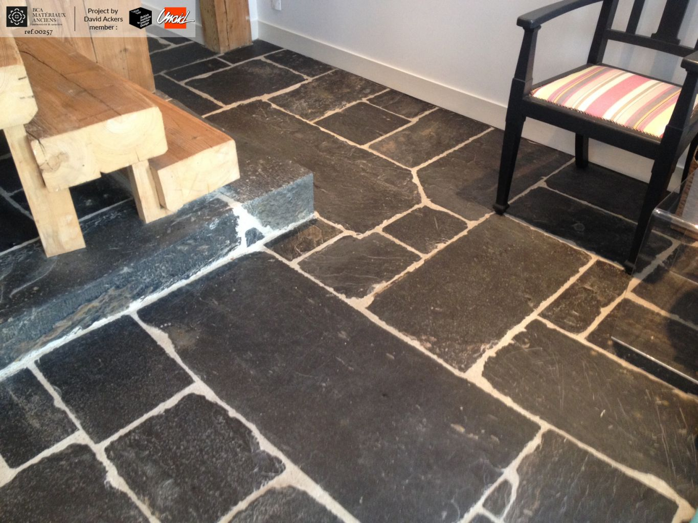reclaimed slate flagstones schist bca antique materials. Black Bedroom Furniture Sets. Home Design Ideas