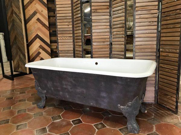 baignoire ancienne en fonte