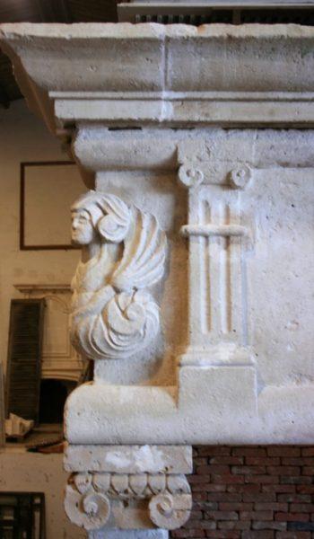 cheminée ancienne renaissance