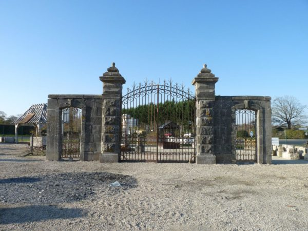 antique entrance gateways