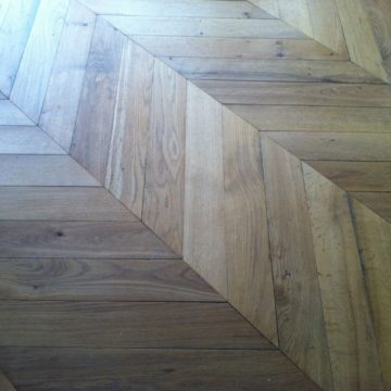 antique reclaimed remilled oak chevron
