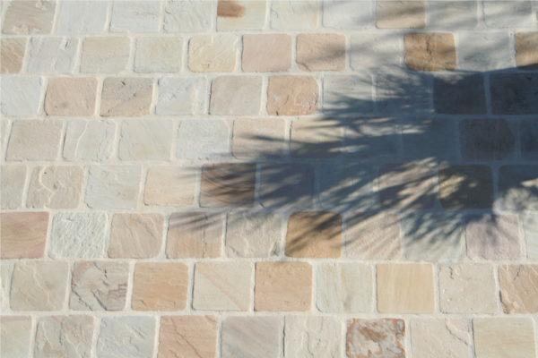 khandla beige sandstone pavers