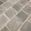 khandla sandstone pavers in a grey color