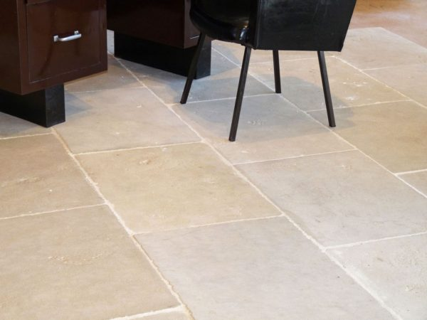 Antiqued Bar limestone