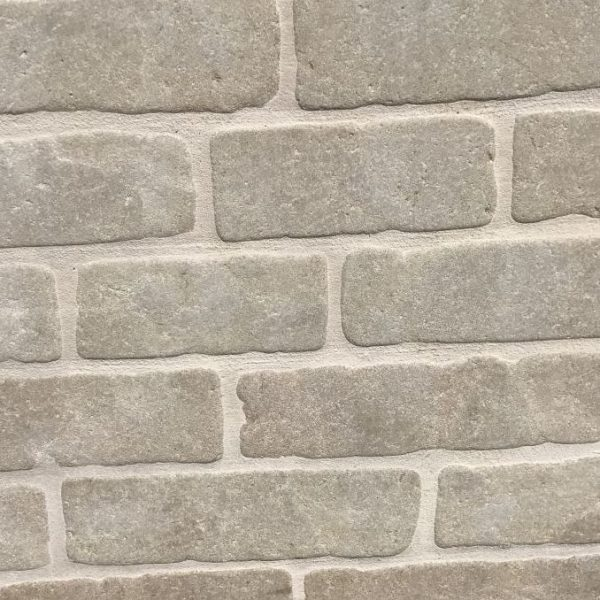 Solid limestone rectangle for paving