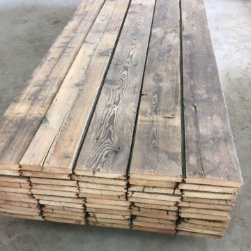 ancien plancher en sapin