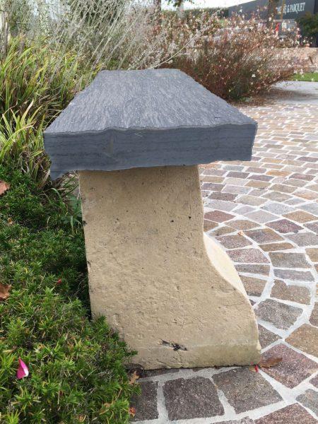 banc en pierre ancienne pour votre jardin