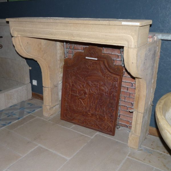 antique chimneypiece stone french