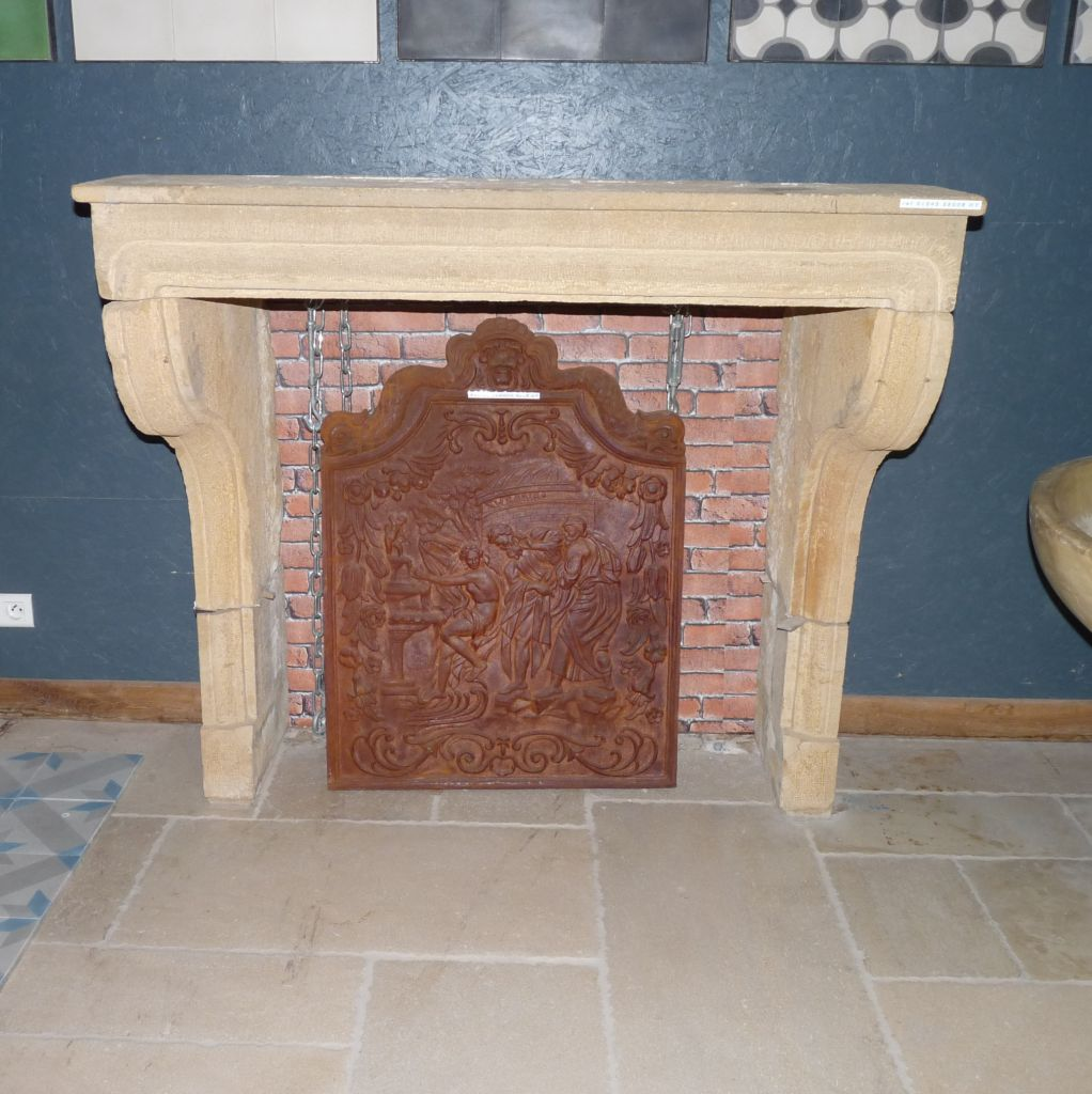antique french stone fireplace french limestone bca antique