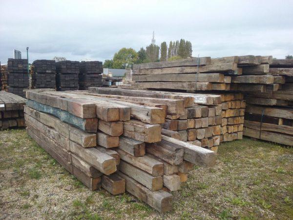 solive vieux bois en chêne ancien