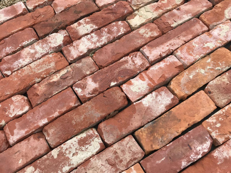 Reclaimed antique brick facing - Hand-made bricks | BCA ...