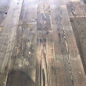railway wagon board flooring in pine