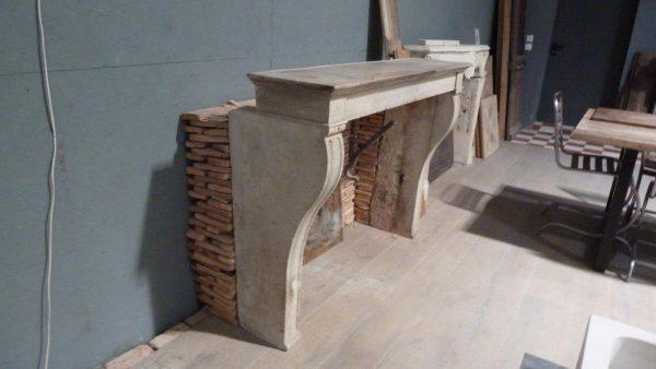 cheminée pierre ancienne campagnarde