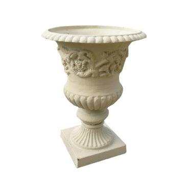 garden cast iron vase