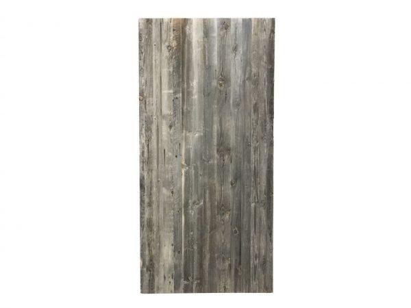 panneau en vieux bois de sapin gris
