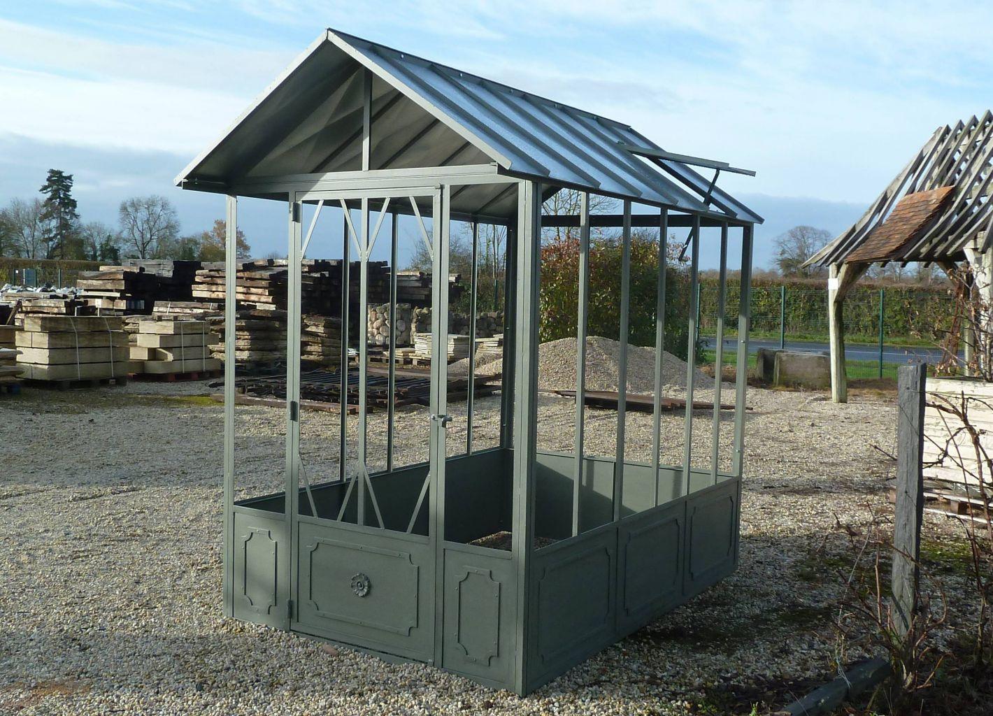 traditional metal greenhouse bca antique materials. Black Bedroom Furniture Sets. Home Design Ideas