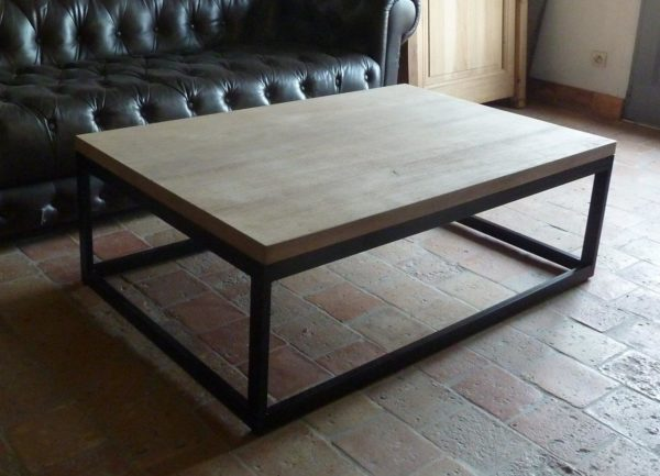 small coffee table realisation