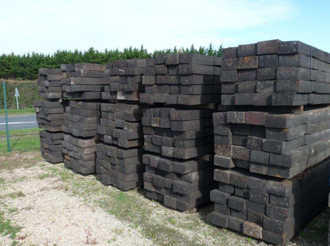 Traverse bois exotique - Non traité | BCA Matériaux Anciens