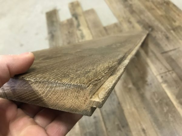 Antique french oak flooring