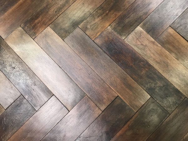 antique parquet flooring