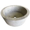 vasque en pierre gris