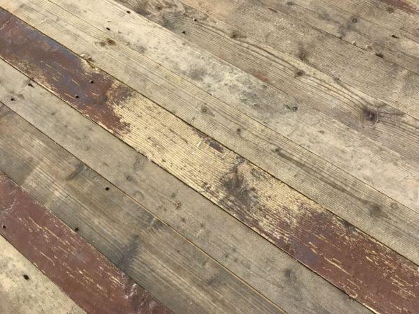 lame de parquet ancien en pin