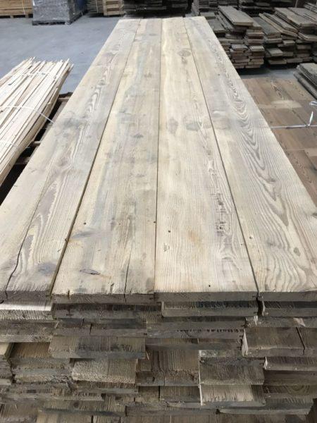 plancher en vieux bois de sapin