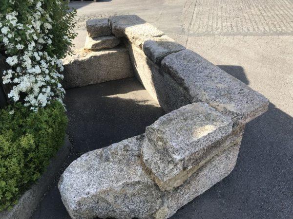 manteau de cheminée en granit