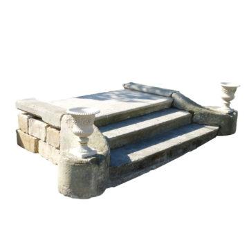 perron ancien pierre calcaire