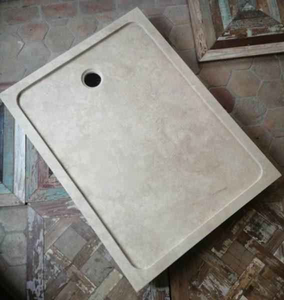 travertin shower tray