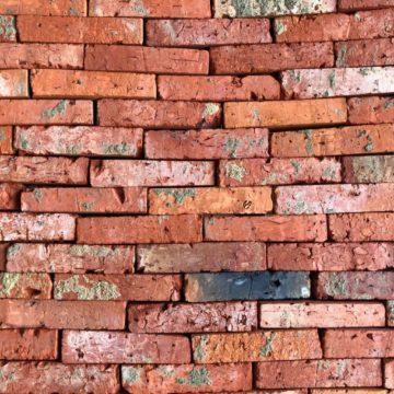 parement vieille brique