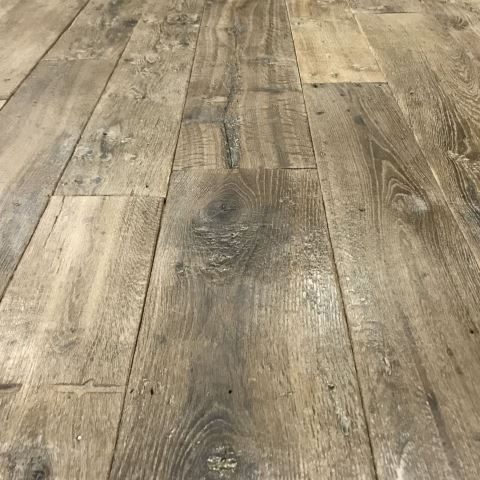 reclaimed floorboards