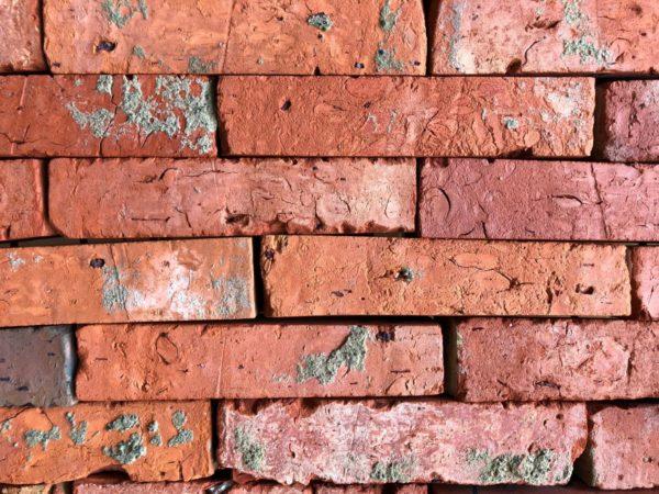 vieille brique de récupération
