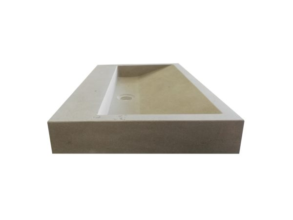 Washbasin in natural stone Mera Grey