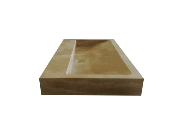 Washbasin in natural stone