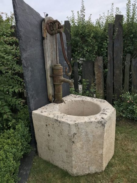 antique well-head