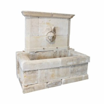 fountain bricks old classy style