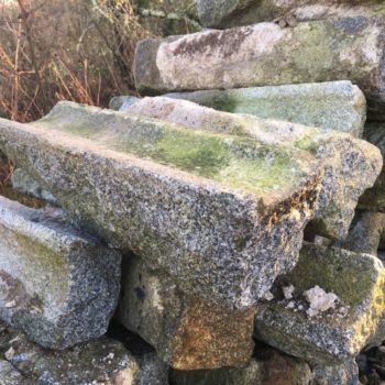 stock of gutter stone
