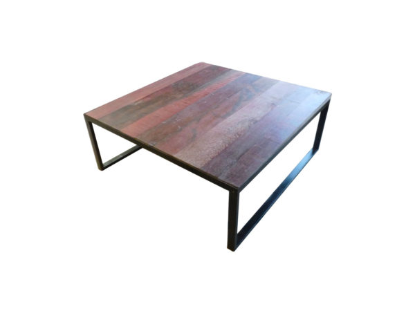 coffee table red oak