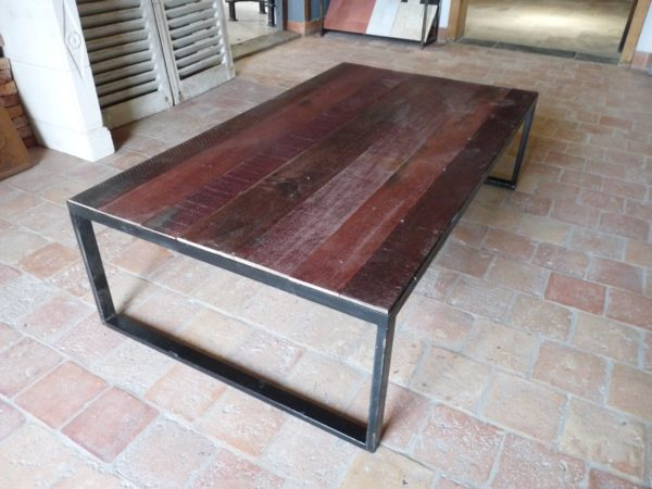 coffee table living room red wood