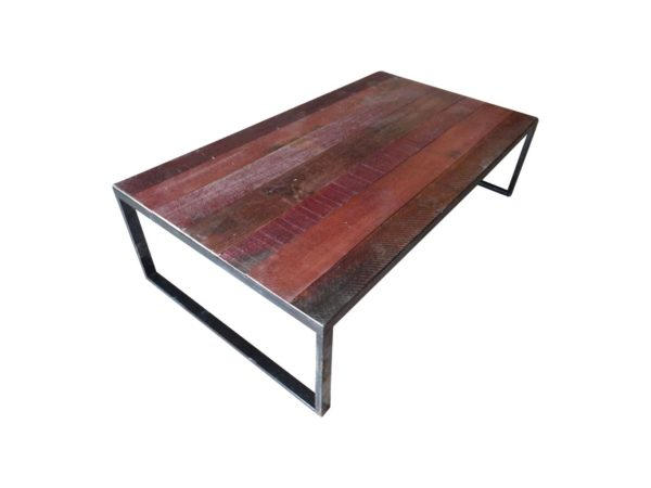 large coffee table red oak