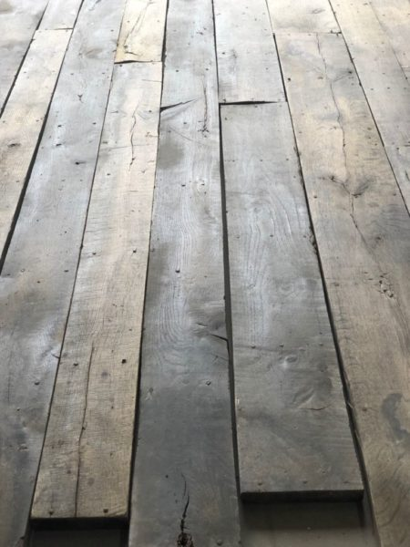 prepared ready floorboard antique