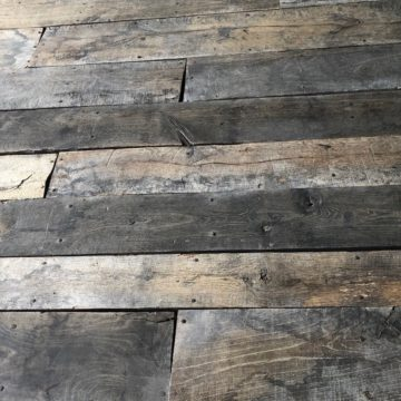 old reclaimed floorboard french