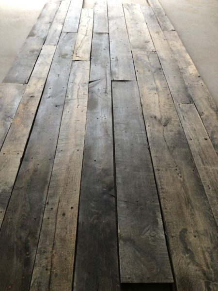 reclaimed antique floorboard colors